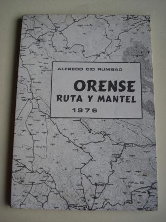 Orense. Ruta y mantel 1976