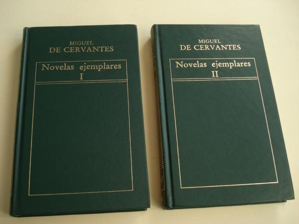 Novelas ejemplares. 2 tomos
