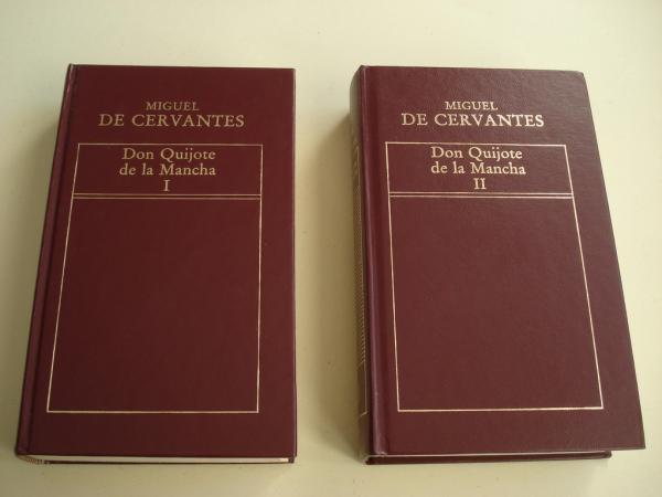 Don Quijote de la Mancha. 2 tomos