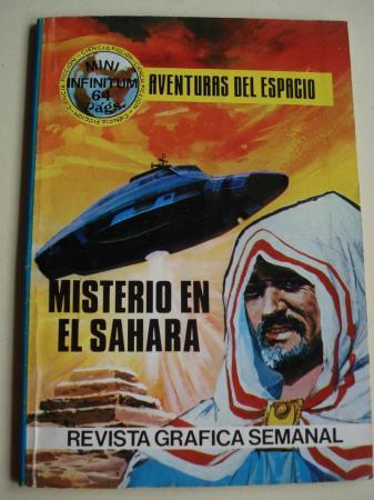Misterio en el Sahara. Aventuras del espacio. Revista gráfica semanal