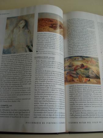 ARTE. Diccionario de pintores españoles. Segunda mitad del Siglo Veinte