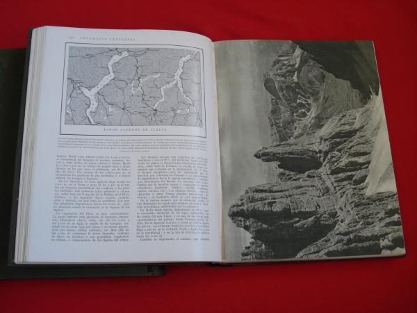 Geografía Universal. Descripción moderna del mundo (2ª edición revisada). Tomo I: Europa - Generalidades / Tomo II: Europa