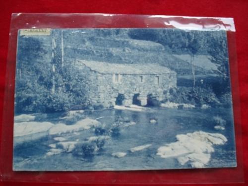 Tarxeta postal: Noia (Noya)- Muíños da Pedrachán. 1920
