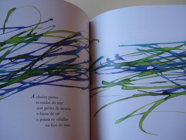 Chove nos versos (Ilustrado por Lázaro Enríquez)