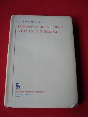 Federico García Lorca poeta de la intensidad