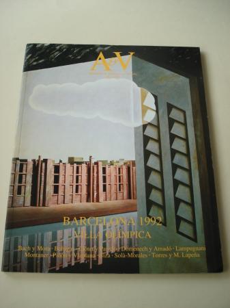 A & V Monografías de Arquitectura y Vivienda nº 22. Barcelona 1992. Villa olímpica