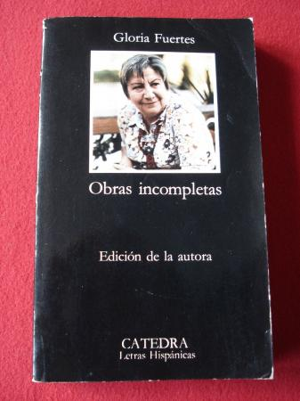 Obras incompletas (Edición de la autora)