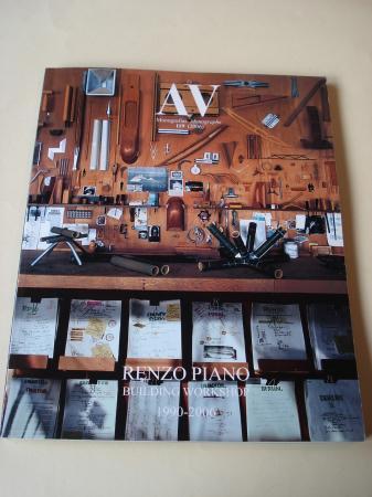 A & V Monografías de Arquitectura y Vivienda nº 119. Renzo Piano. Building Workshop 1990-2006