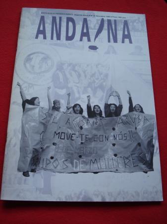 ANDAINA. Revista Galega de Pensamento Feminista. 2ª época. Nº 13. Decembro 1995