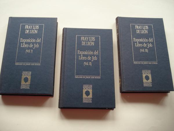Exposición del Libro de Job. Vol. I, Vol. II y Vol.III