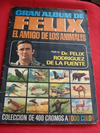 GRAN ÁLBUM DE FÉLIX EL AMIGO DE LOS ANIMALES  por el Dr. Félix Rodríguez de la Fuente