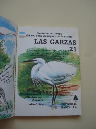 Las garzas. Cuadernos de campo, nº 21
