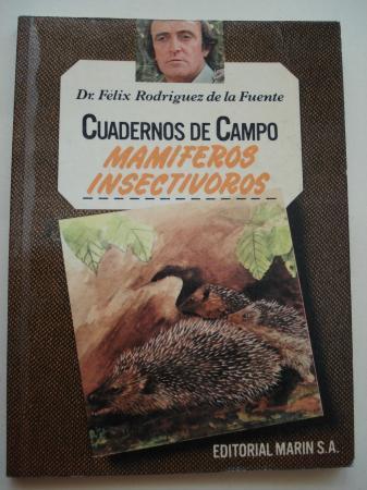 Mamíferos insectívoros. Cuadernos de campo, nº 58