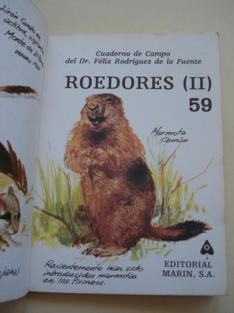 Roedores (II). Cuadernos de campo, nº 59