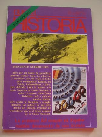 Revista NUEVA HISTORIA. Año I, Número 8 - septiembre, 1977. Monográfico. La aventura del maquis en España: Análisis documental de una leyenda