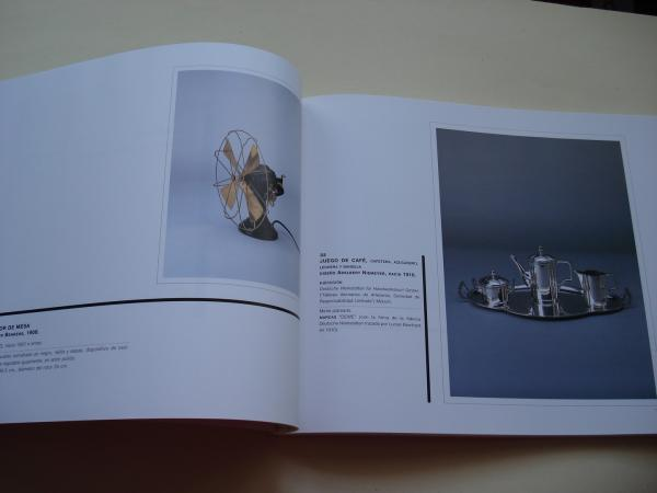 Diseño de Vanguardia 1880-1940. Catálogo Exposición Museo Nacional de Artes Decorativas, Madrid, 2000