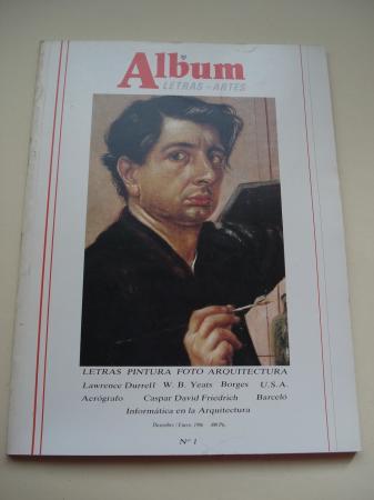 ÁLBUM DE LETRAS - ARTES. Nº 1