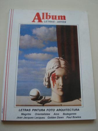 ÁLBUM DE LETRAS - ARTES. Nº 8