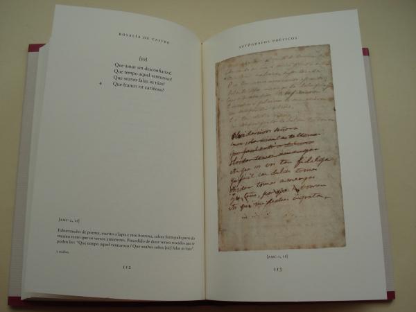 Autógrafos poéticos (Edición de Henrique Monteagudo)
