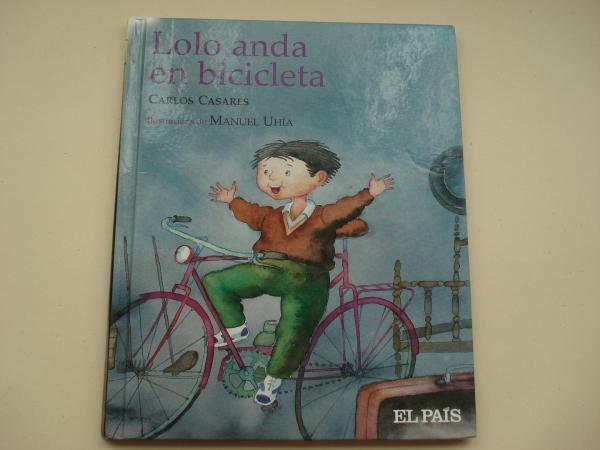 Lolo anda en bicicleta (Texto en galego)