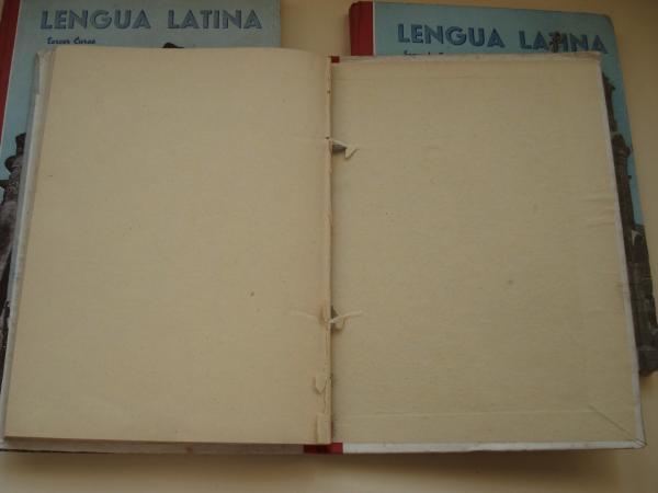 Lengua Latina. 3 tomos: Primer Curso / Segundo Curso / Tercer Curso
