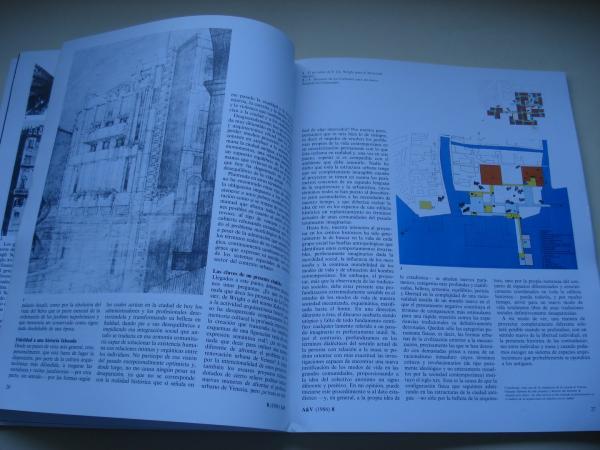 A & V. Monografías de Arquitectura y Vivienda. Núm. 8 (1986): Venecia Nueva. Aymonino-De Carlo-Girouard-Gragotti-Moneo-Rossi-Samonà-Siza-Valle