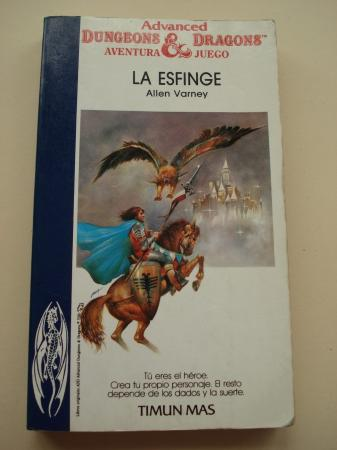La esfinge. Advanced Dungeons & Dragons. Aventura Juego, nº 14