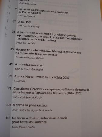 BARBANTIA. anuario de Estudos do Barbanza. Ano 2016. Nº 12