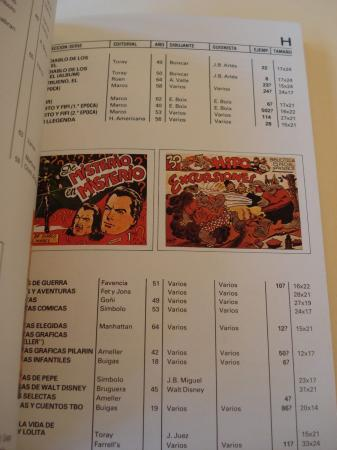 Catálogo del tebeo en España 1915-1965 / Spanish comic book´s catalogue 1915-1965