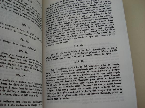 Diario de la navegación emprendida en 1781 desde el río Negro por Basilio Villarino (Basilio Vilariño)