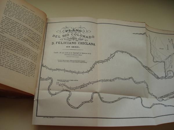 La conquista de quince mil leguas (Basilio Vilariño / Basilio Villarino). Estudio de la traslación de la frontera sur de la República al Río Negro