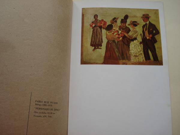 Galería Altamira. II Gran Exposición de pintura Maestros españoles siglos XIX -XX. Pontevedra, 1973-1974