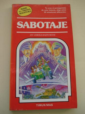 Sabotaje. Elige tu propia aventura, nº 28