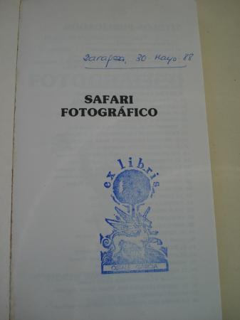 Safari fotográfico. Elige tu propia aventura, nº 37