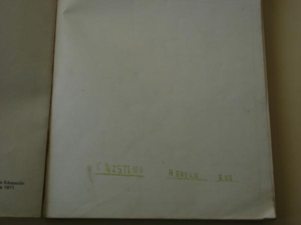 SENDA 6. Libro de lectura. EGB (Edición de 1977)