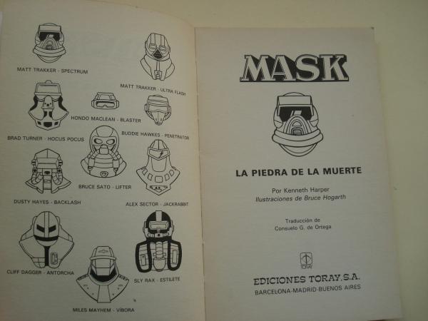 MASK, Nº 1: La piedra de la muerte