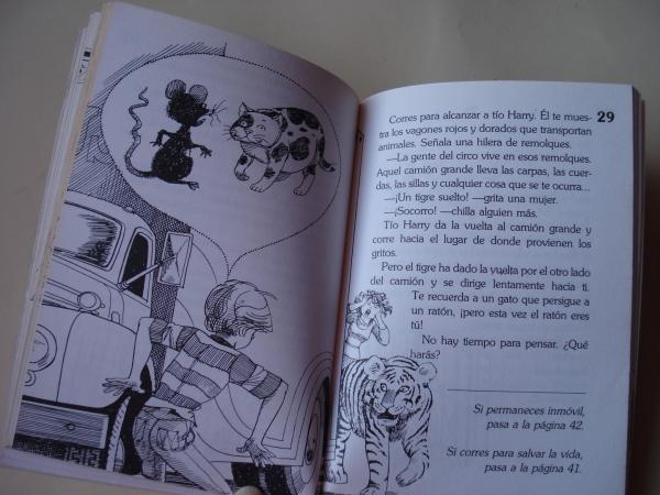 El circo. Elige tu propia aventura - Globo Azul, nº 9