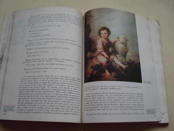 Lecturas y géneros literarios. Mundo Nuevo 7º EGB Anaya