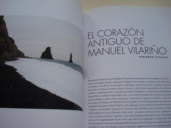 MANUEL VILARIÑO. `Mar de afuera´Catálogo Exposición Círculo de Bellas Artes, Madrid, 2012 (Textos A. Gamoneda, A. Ruiz de Samaniego, Félix Duque, Vincenzo Vitiello...)
