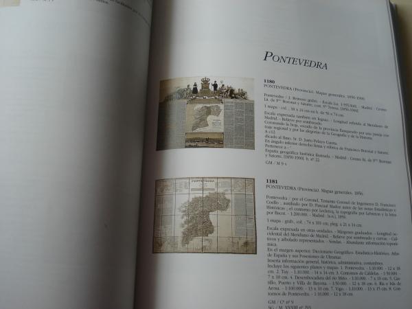 Cartografía de España en la Biblioteca Nacional. Siglos XVI al XIX. Tomos I, II y Adenda