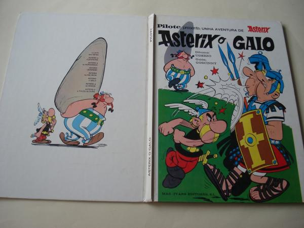 Asterix o galo (Tradución ao galego de Eduardo Blanco Amor))