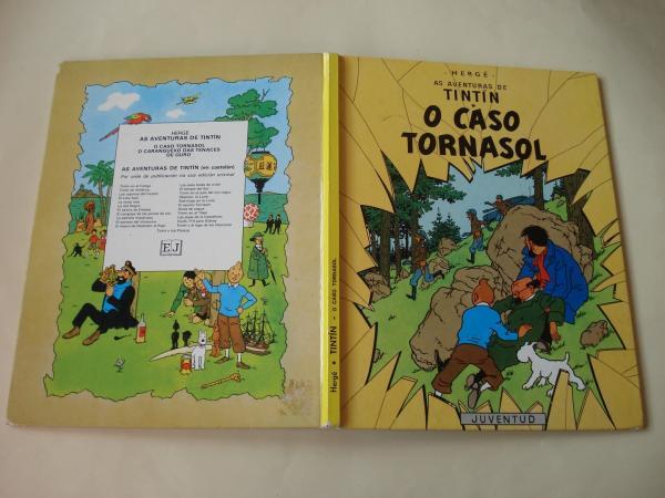 O caso Tornasol. As aventuras de Tintín (En galego). Tradución de Valentín Arias López