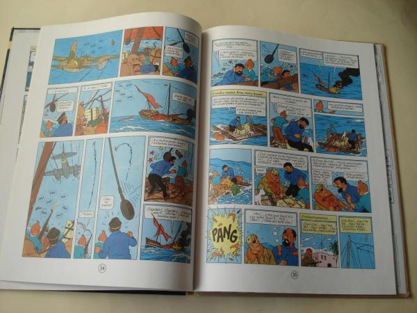 Stock de coque. As aventuras de Tintín (En galego). Tradución de Valentín Arias López