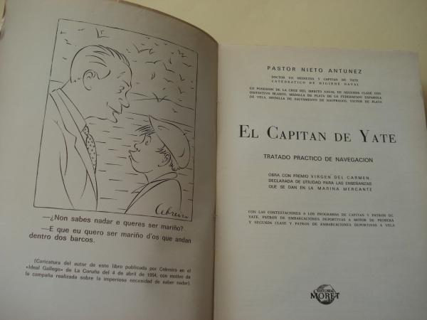 El capitán de yate. Tratado práctico de navegación
