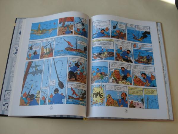 Stock de coque. As aventuras de Tintín (1ª edición en galego). Tradución de Valentín Arias López