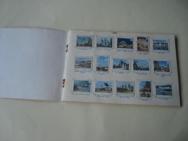 Tómbola de caridad (La Coruña). Álbum de boletos con 240 vistas de Bélgica (Faltan 7 cromos)