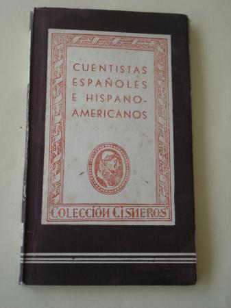 Cuentistas españoles e hispanoamericanos