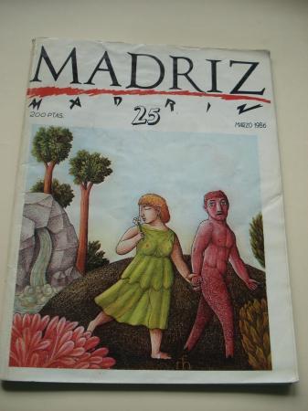 MADRIZ. Nº 25. Marzo, 1986