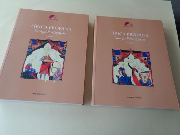 Lírica Profana Galego-Portuguesa. Volumes I e II