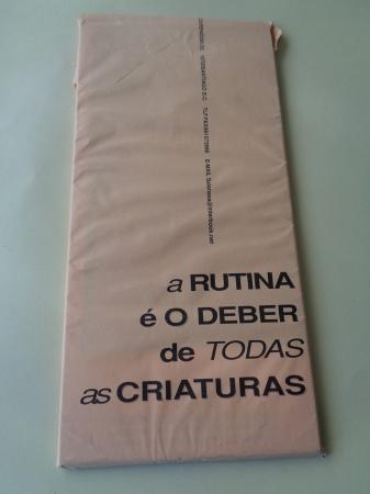 A rutina é o deber de todas as criaturas. Programa espectáculo Sala NASA e os Chévere, Compostela 2000